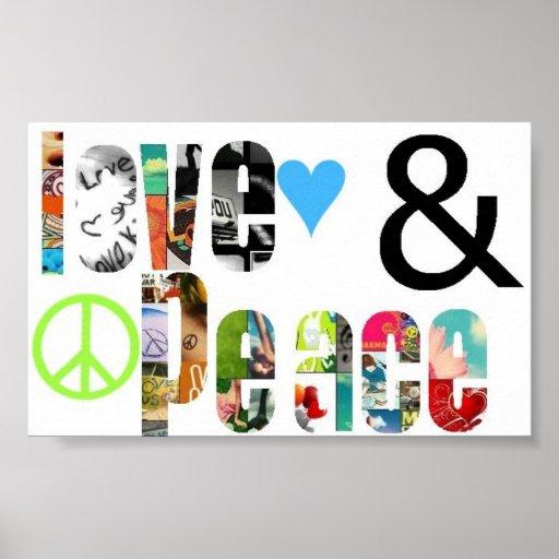 Amour et paix poster