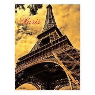 Amour et Tour Eiffel Romance France de Paris de Cartes Postales