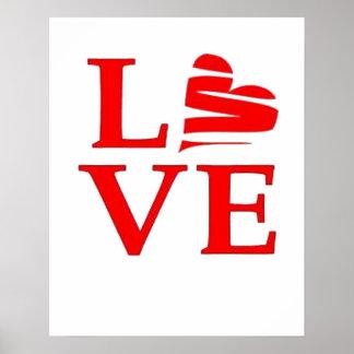 Amour et un coeur brisé posters