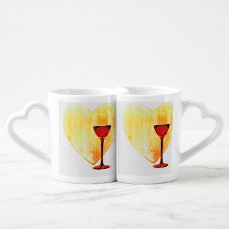 Amour et vin mug