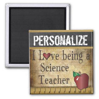 Amour étant un aimant de professeur de Sciences