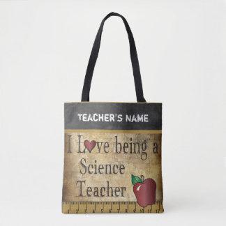 Amour étant un nom du professeur de Sciences   Tote Bag