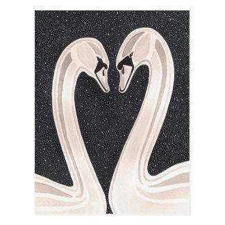Amour éternel carte postale