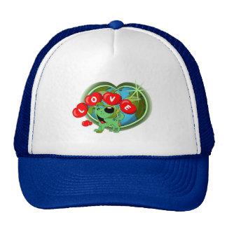 Amour (feuille - jour de la terre) casquette trucker