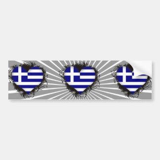 Amour Grèce du cru I Autocollant Pour Voiture