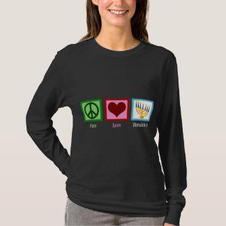 Amour Hanoukka de paix T-shirt