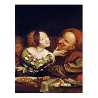 Amour inégal ou, les couples mal adaptés cartes postales