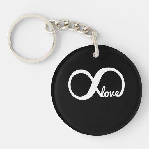 Amour infini porte-clef