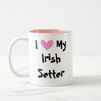 Amour irlandais/anglais/poseur de Gordon/R&W Tasse 2 Couleurs