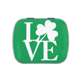 Amour irlandais boites de bonbons jelly belly