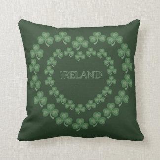Amour irlandais oreiller