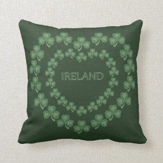 Amour irlandais coussin