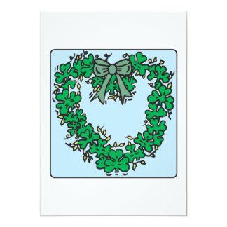 Amour irlandais carton d'invitation  12,7 cm x 17,78 cm
