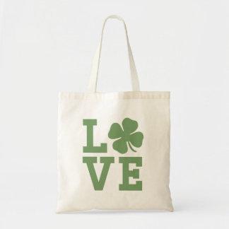 Amour irlandais Fourre-tout Sacs En Toile