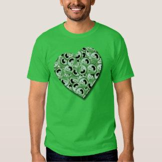 Amour irlandais t-shirts