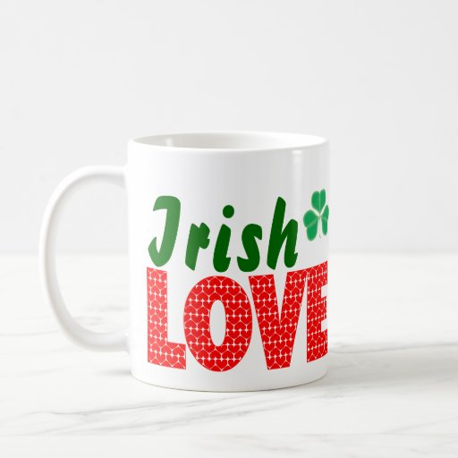 Amour irlandais mug