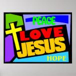 Amour Jésus Affiche