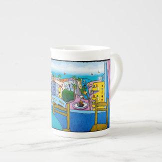 Amour Jonathan KIS-Lev pour la tasse de porcelaine