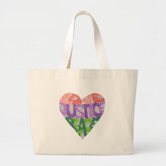Amour, justice, paix - Fourre-tout enorme Grand Tote Bag