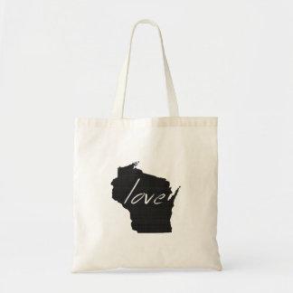 Amour le Wisconsin Sacs Fourre-tout