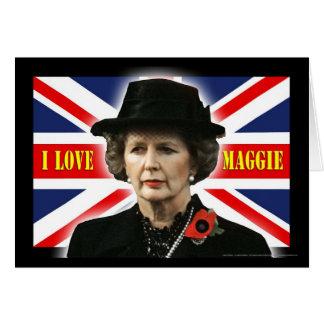 Amour Maggie de Margaret Thatcher I Carte De Vœux