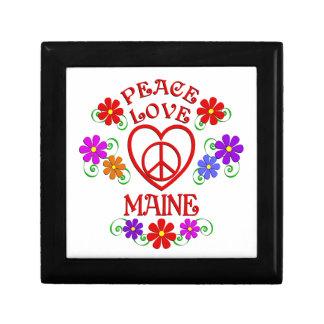 Amour Maine de paix Boîte À Souvenirs