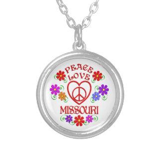 Amour Missouri de paix Collier