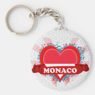 Amour Monaco du cru I Porte-clé Rond