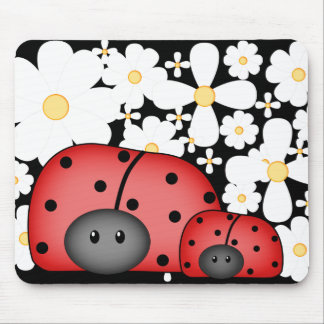 Amour Mousepad de coccinelle Tapis De Souris