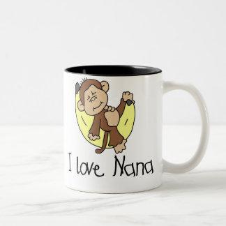 Amour Nana du singe I Tasse 2 Couleurs