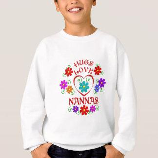 Amour Nannas d'étreintes Sweatshirt