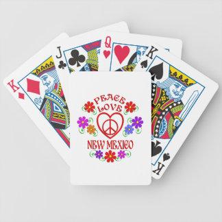 Amour Nouveau Mexique de paix Jeu De Cartes