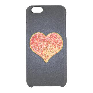 AMOUR - or rose brillant - cas de l'iPhone 6/6s Coque iPhone 6/6S