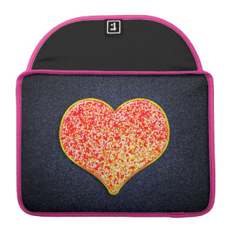 AMOUR - or rose brillant - Macbook fait sur Poches Pour Macbook Pro