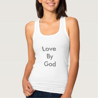 Amour par le T-shirt de Dieu