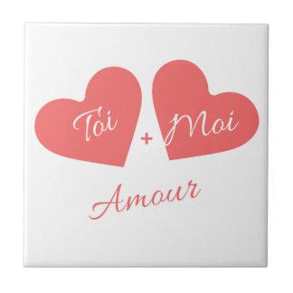 Amour Petit Carreau Carré