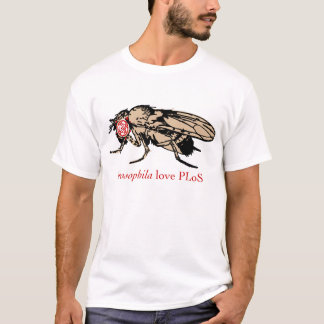 Amour PLoS de drosophile T-shirt