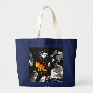 Amour pour le sac fourre-tout au feu