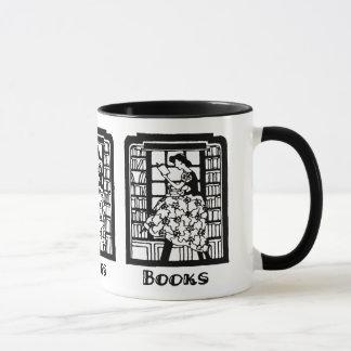 Amour pour lire des livres mug