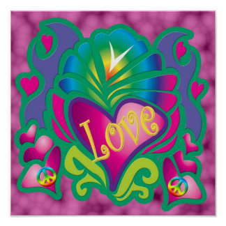 Amour psychédélique posters