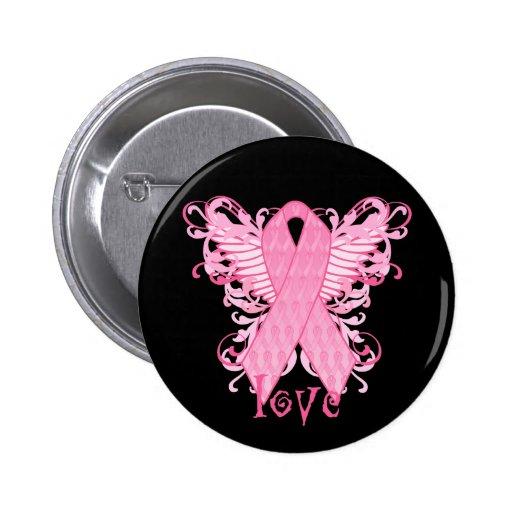 Amour rose de ruban pin's