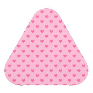 Amour rose mignon de motif de coeur haut-parleur bluetooth