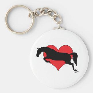 Amour sautant Keychain Porte-clefs