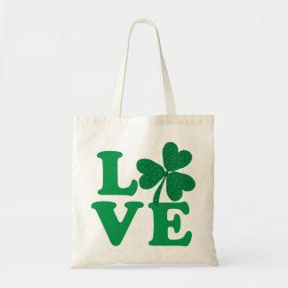 Amour-Shamrock Tote Bag