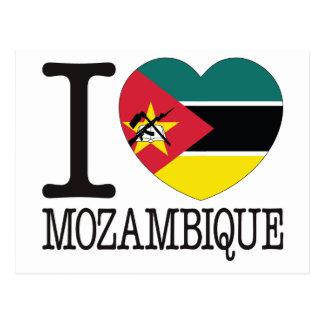 Amour v2 de la Mozambique Carte Postale