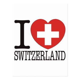 Amour v2 de la Suisse Carte Postale