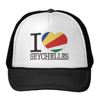 Amour v2 des Seychelles Casquette De Camionneur
