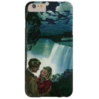 Amour vintage de lune de miel, nouveaux mariés aux coque barely there iPhone 6 plus