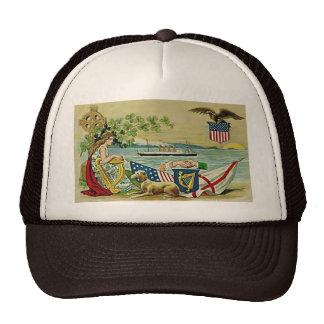 amour vintage irlandais pour l'erin casquettes de camionneur