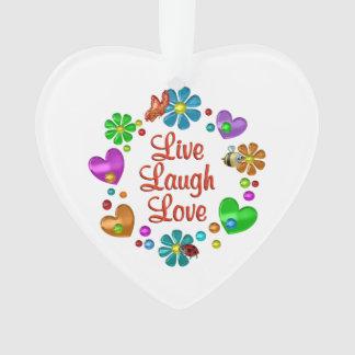 Amour vivant de rire d'amusement